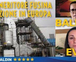 Ambiente/Venezia. Baldin (M5S): inceneritore Fusina, petizione al Parlamento Europeo