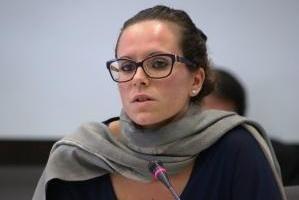 Erika Baldin, consigliera regionale veneta del Movimento 5 Stelle